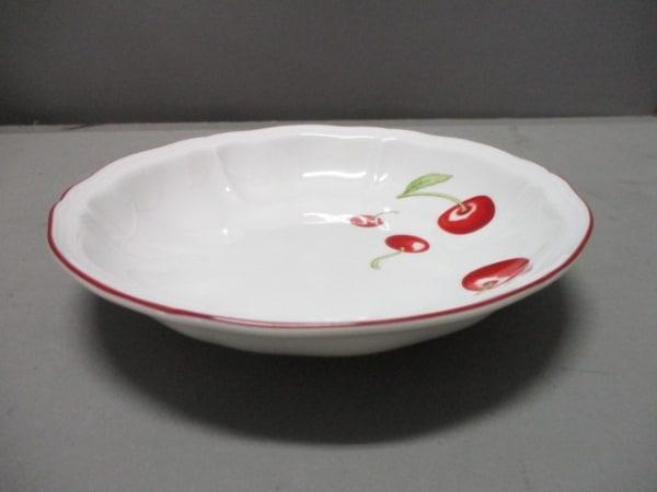 リチャードジノリ 食器新品同様  白×レッド×グリーン アンティコチェリー/ボール
