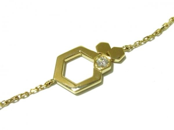CHAUMET(ショーメ) ブレスレット新品同様  ビー マイ ラブ K18YG×ダイヤモンド