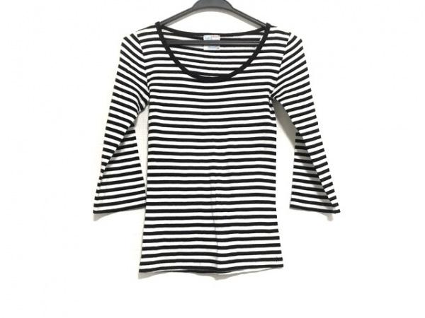 Letroyes(ルトロワ) 七分袖Tシャツ サイズS レディース美品  黒×白 ボーダー