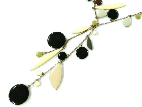 Les Nereides(レネレイド) ネックレス美品  金属素材×プラスチック