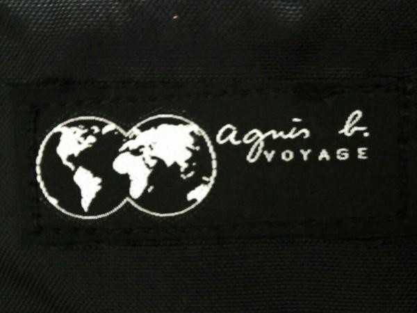agnes b(アニエスベー) ボストンバッグ ダークグレー ナイロン