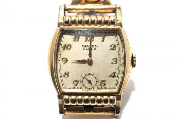 GRUEN(グリュエン) 腕時計 - - レディース ベージュ