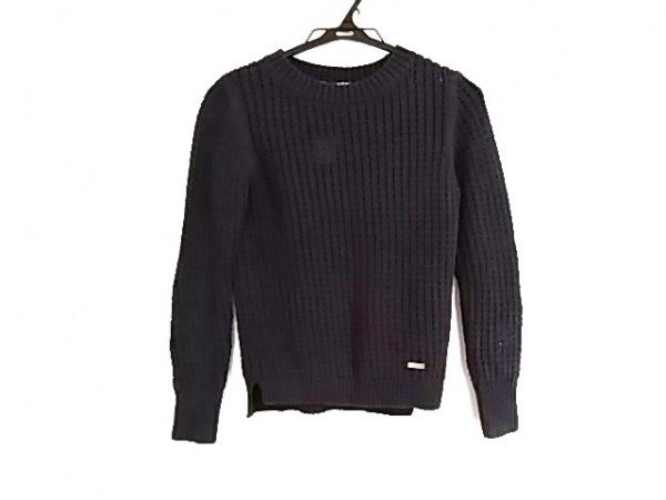 バーバリーブルーレーベル 長袖セーター サイズ38 M レディース ネイビー