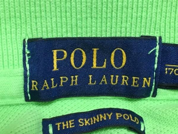 ポロラルフローレン 半袖ポロシャツ サイズL レディース美品  ライトグリーン