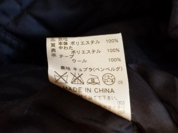 ラピーヌブランシュ コート サイズ40 M レディース ダークネイビー キルティング/冬物