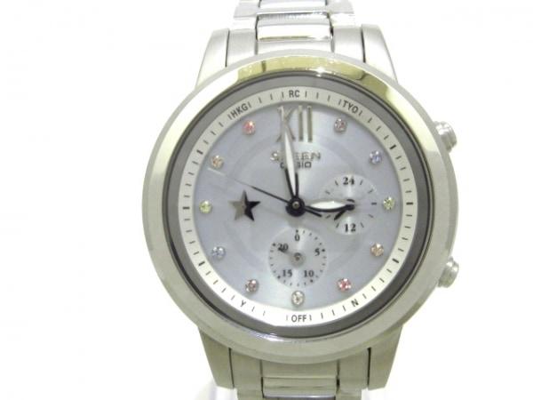 CASIO(カシオ) 腕時計美品  SHEEN SHE-7506 レディース ライトグレー