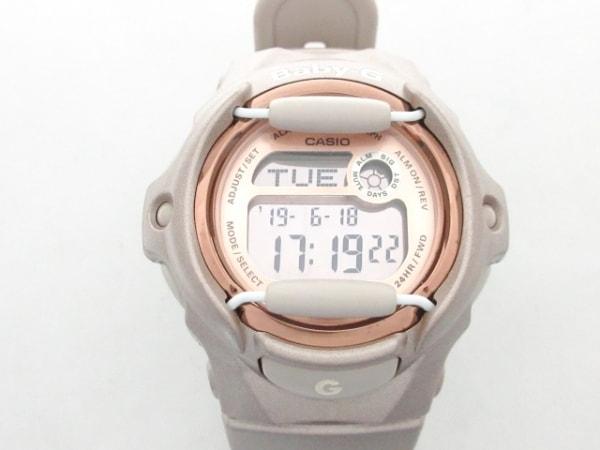 CASIO(カシオ) 腕時計美品  Baby-G BG-169G レディース ラバーベルト ピンクゴールド