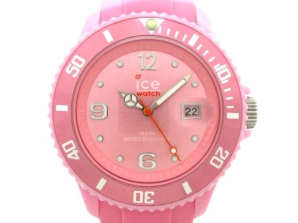 icewatch(アイスウォッチ) 腕時計美品  - レディース ラバーベルト ピンク