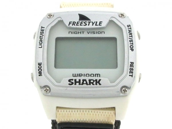 フリースタイル 腕時計 SHARK CLASSIC 779019 レディース Freestyle×SHARK 白