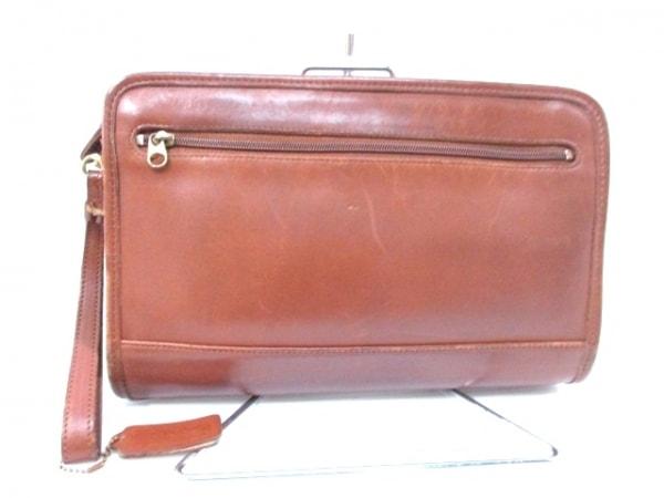 COACH(コーチ) セカンドバッグ - 9833 ブラウン レザー