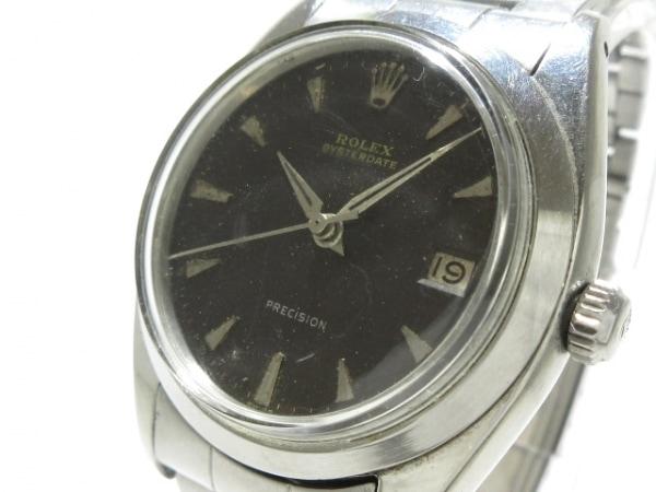 ロレックス 腕時計 オイスターデイト 不鮮明 メンズ SS/11コマ/ポリッシュベゼル/要OH