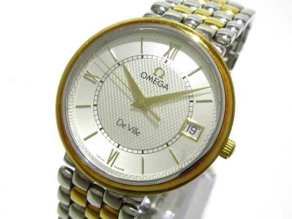 OMEGA(オメガ) 腕時計 デビルクラシック 7314.31 メンズ SS×YG シルバー