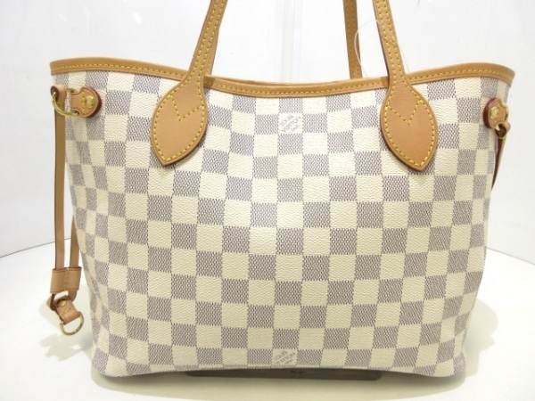 LOUIS VUITTON(ルイヴィトン) トートバッグ ダミエ ネヴァーフルPM N41362 アズール