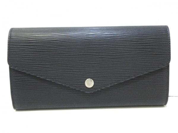 ルイヴィトン 長財布 エピ美品  ポルトフォイユ・サラ M60582 ノワール