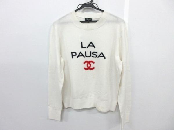 CHANEL(シャネル) 長袖セーター サイズ42 L レディース P60439 白