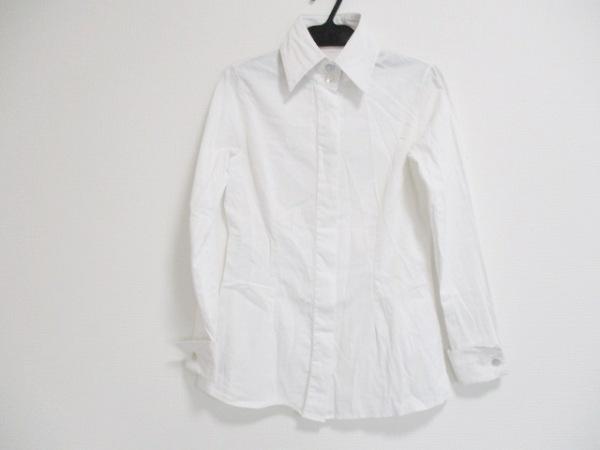 アンフォンティーヌ 長袖シャツブラウス サイズ40 M レディース美品  白