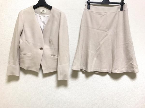 クリアインプレッション スカートスーツ サイズ3 L レディース美品  ピンクベージュ