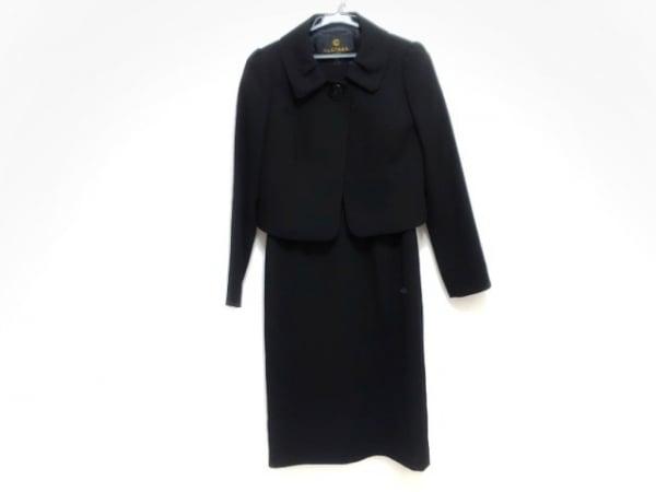 CLATHAS(クレイサス) ワンピーススーツ レディース新品同様  黒
