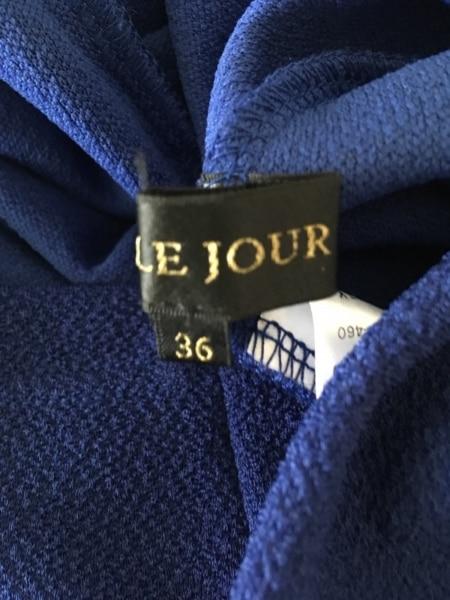 LEJOUR(ルジュール) ワンピース サイズ36 S レディース美品  ブルー×マルチ
