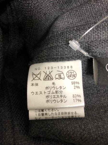 M.Fil(エム.フィル) パンツ レディース ダークグレー×黒 easy trousers