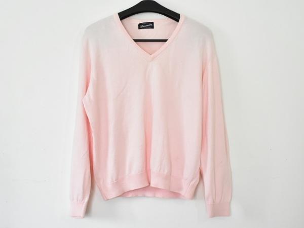 Drumohr(ドルモア) 長袖セーター サイズ42 L メンズ美品  ピンク