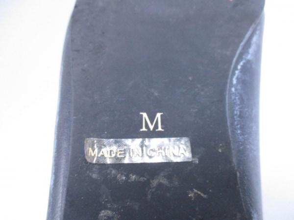WC(ダブルシー) ショートブーツ M レディース ダークグレー 合皮
