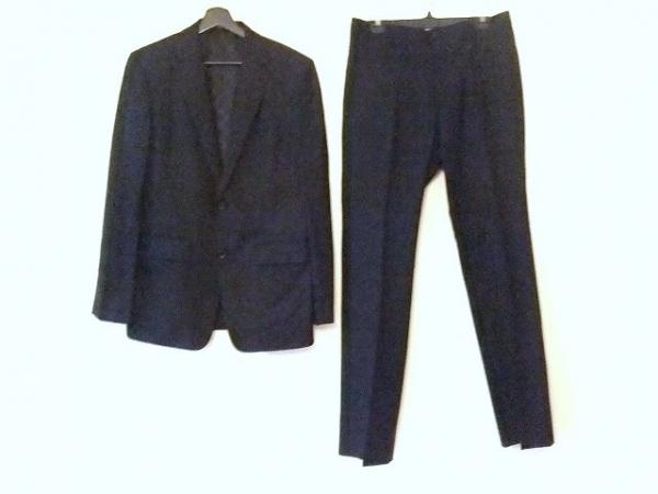 COMME CA MEN(コムサメン) メンズスーツ サイズ48 XL メンズ 黒