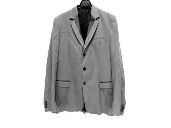 アレッサンドロデラクア ジャケット サイズ48 XL メンズ グレー