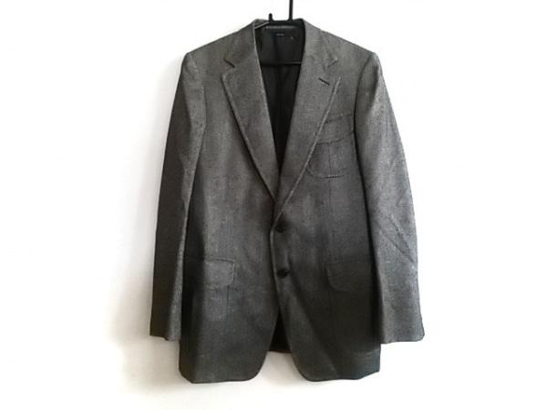 TOM FORD(トムフォード) ジャケット サイズ52 メンズ美品  黒×アイボリー