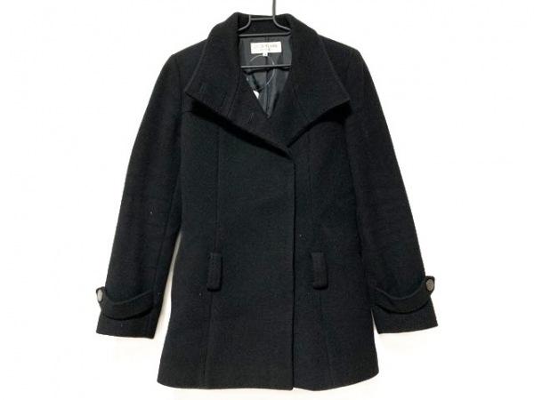 22OCTOBRE(ヴァンドゥ オクトーブル) コート サイズ40 M レディース 黒 冬物