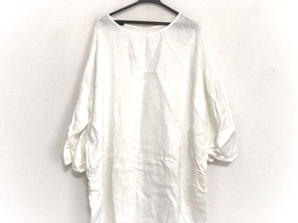 DEUXIEME CLASSE(ドゥーズィエム) ワンピース レディース美品  白 シースルー