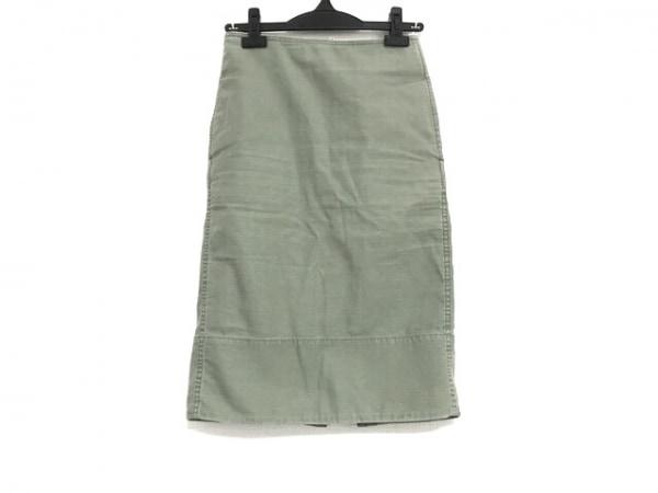 MADISON BLUE(マディソンブルー) スカート サイズ00 XS レディース美品  カーキ