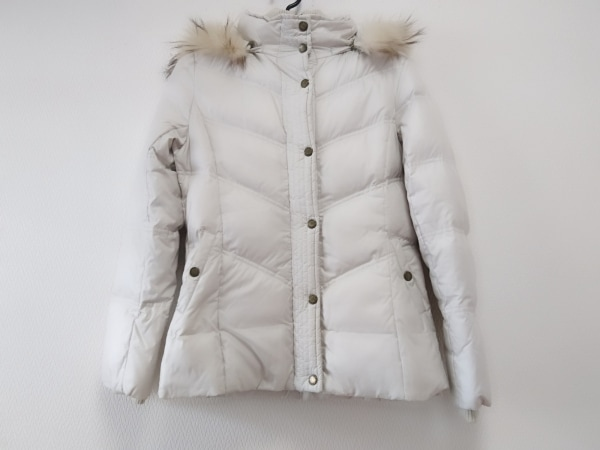 クミキョク ダウンジャケット サイズ2 M レディース ライトグレー 冬物