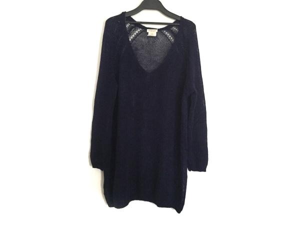 demylee(デミリー) 長袖セーター サイズXS レディース パープル 麻