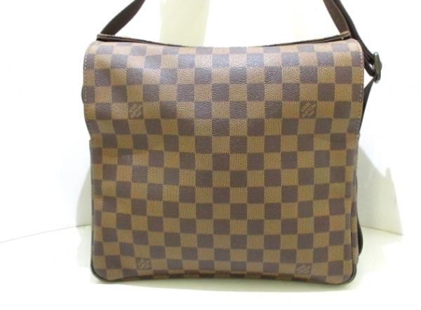 ルイヴィトン ショルダーバッグ ダミエ美品  ナヴィグリオ N45255 エベヌ