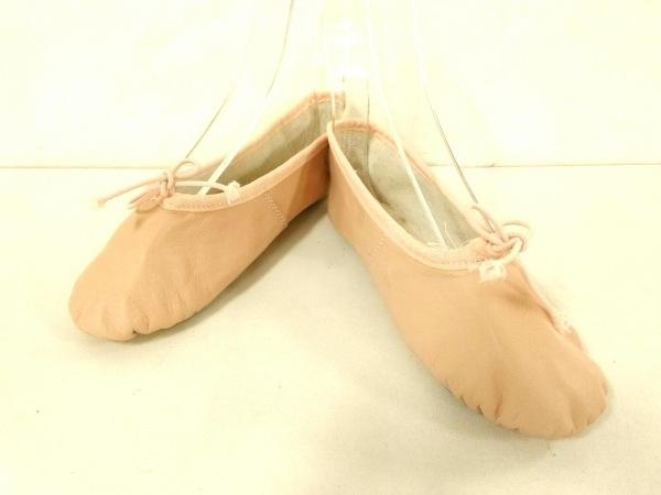 repetto(レペット) 靴 36 1/2 レディース ピンクベージュ バレエシューズ レザー