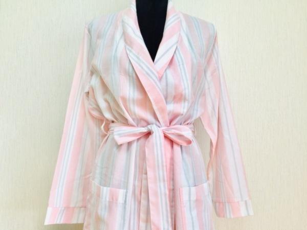 ピーチジョン コート サイズONE SIZE レディース美品  ピンク×白×ライトグレー