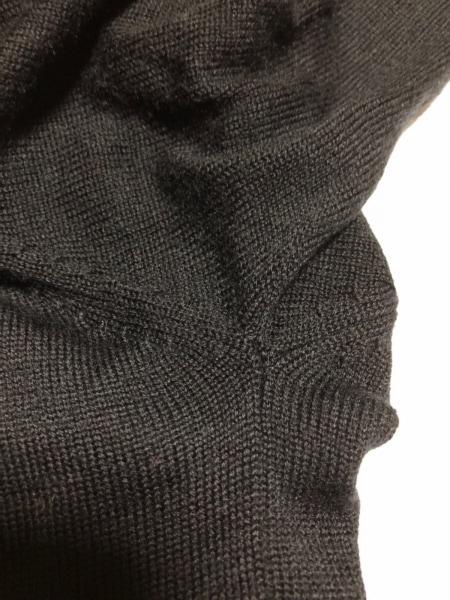 エデュケーションフロムヤングマシーン カーディガン サイズ2 M メンズ 黒×シルバー