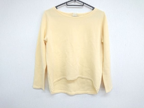 ANAYI(アナイ) 長袖セーター サイズ38 M レディース美品  イエロー