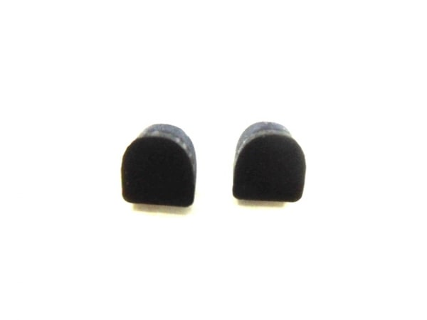 シャネル サンダル 33 1/2 C レディース 黒 型押し加工 レザー 7