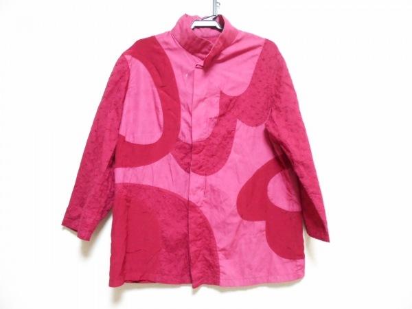 MASAKI MATSUSHIMA(マサキマツシマ) 七分袖シャツブラウス レディース ピンク