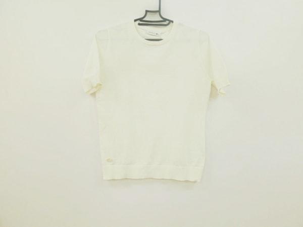 Lacoste(ラコステ) 半袖Tシャツ サイズ36 S レディース美品  白