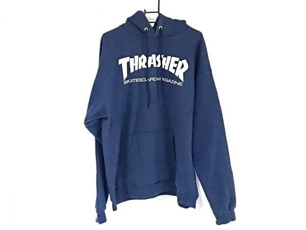 THRASHER(スラッシャー) パーカー サイズM メンズ ネイビー