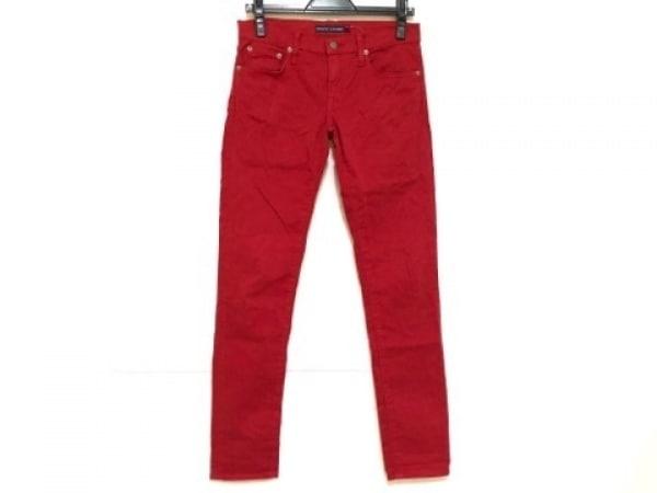 RalphLauren(ラルフローレン) パンツ サイズ26 S レディース レッド