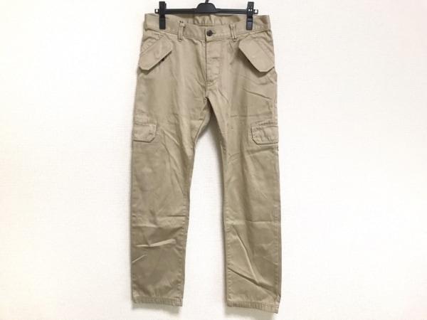 ブラックバレットバイニールバレット パンツ サイズ3 L メンズ ベージュ