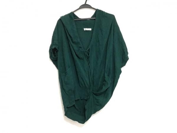 TSUMORI CHISATO(ツモリチサト) カーディガン サイズ2 M レディース美品  グリーン