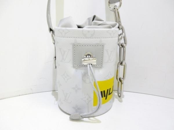 ルイヴィトン ショルダーバッグ コレクションライン美品  チョーク・ナノバッグ 白