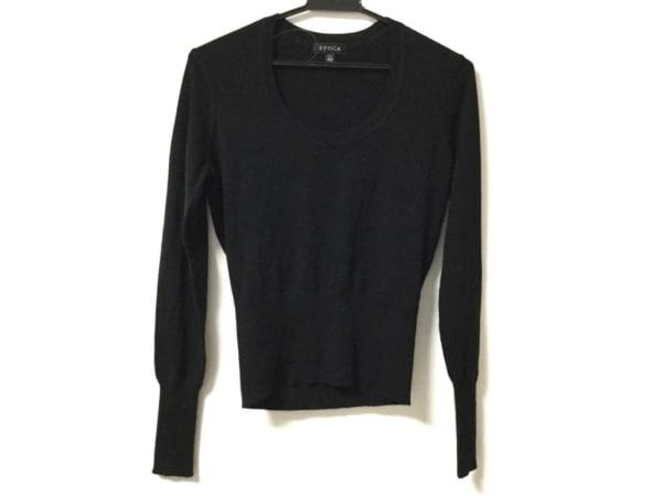 EPOCA(エポカ) 長袖セーター サイズ40 M レディース美品  黒 カシミヤ