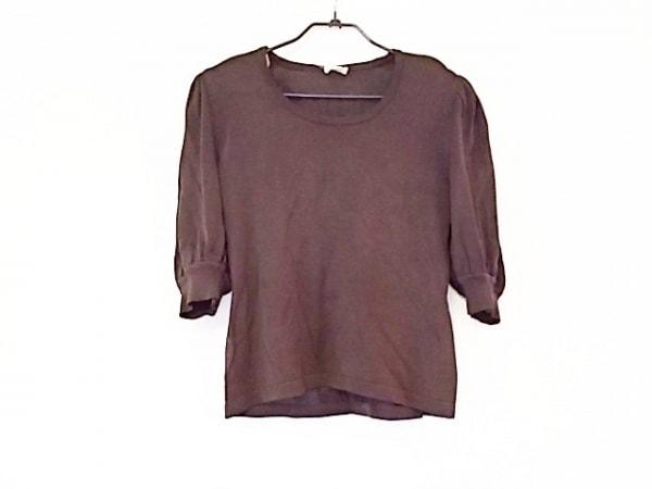 FOXEY(フォクシー) 七分袖セーター サイズ40 M レディース美品  ダークブラウン