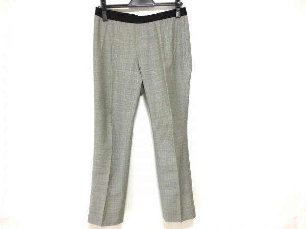 M.Fil(エム.フィル) パンツ サイズ38 M レディース ライトグレー ウエストゴム